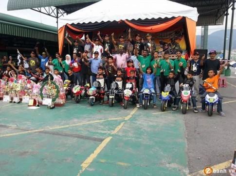 Giải đua Môtô ruồi và thú chơi tao nhã của người Malaysia