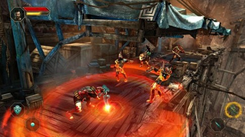 Godfire Rise of Prometheus - Bom tấn đồ họa đổ bộ Android