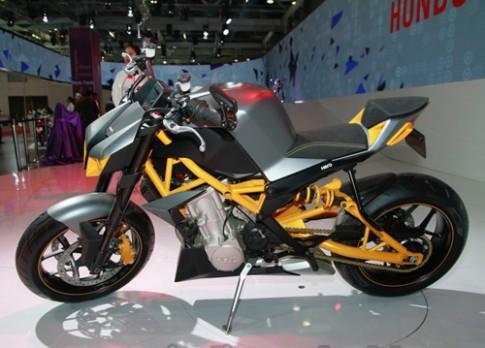 Hãng xe lớn nhất thế giới ra mắt nakedbike Hero Hastur 620.