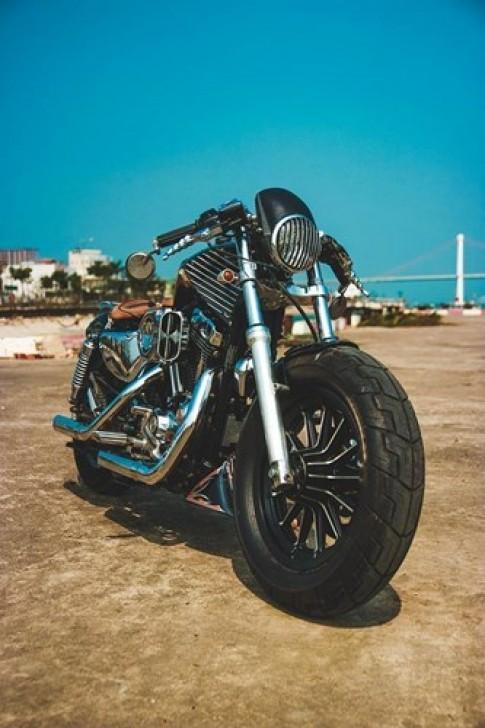 Harley Davidson phong cách samurai tại Việt Nam