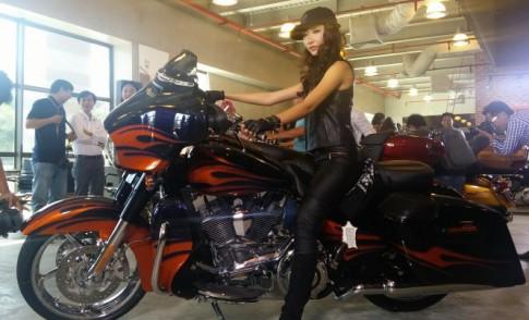 Harley-Davidson trình làng bộ 3 xế độ CVO 2015