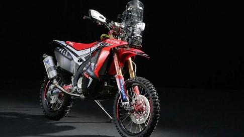 Hình ảnh Honda CRF 450 Rally cho giải đua Dakar 2014