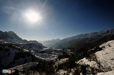Hình ảnh Sapa phủ đầy tuyết trắng đẹp nhất trong 50 năm qua
