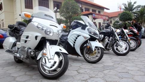 Hội ngộ dàn mô tô 'khủng' tại Quảng Ninh