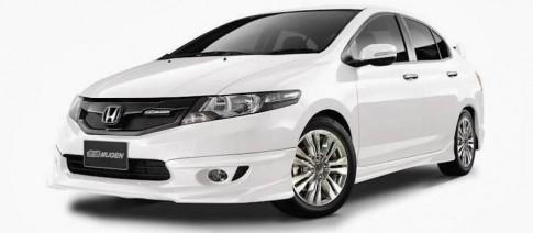 Honda City phong cách hơn với gói độ Mugen