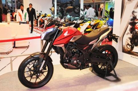Honda CX01 chiếc nakedbike 160cc sẽ được ra mắt cuối năm nay