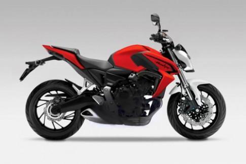 Honda Hornet 800 dòng xe nakedbike mới chuẩn bị ra mắt