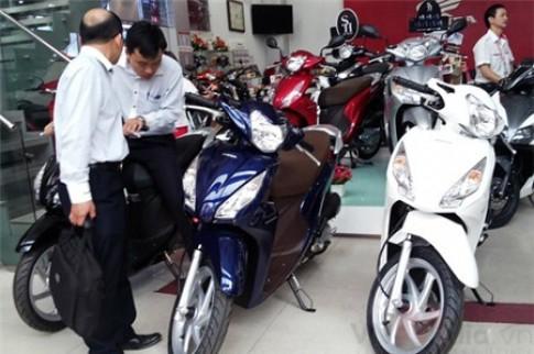 """Honda """"mỉm cười"""" trên thị trường xe máy năm 2014"""