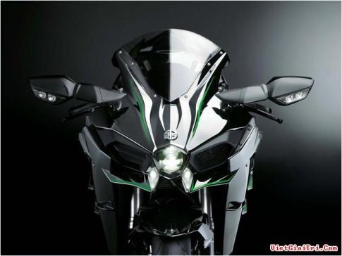 Kawasaki Ninja H2R: chú khủng long có giá 50.000 USD