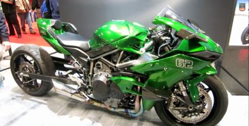 Kawasaki Ninja H2R Độ phong cách Drag Race