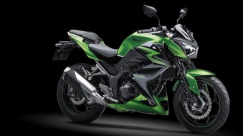 Kawasaki Z250 2015 ra mắt phiên bản ABS mới