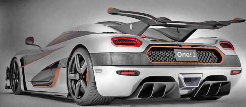Koenigsegg One:1 sẽ trở thành xe nhanh nhất Thế Giới