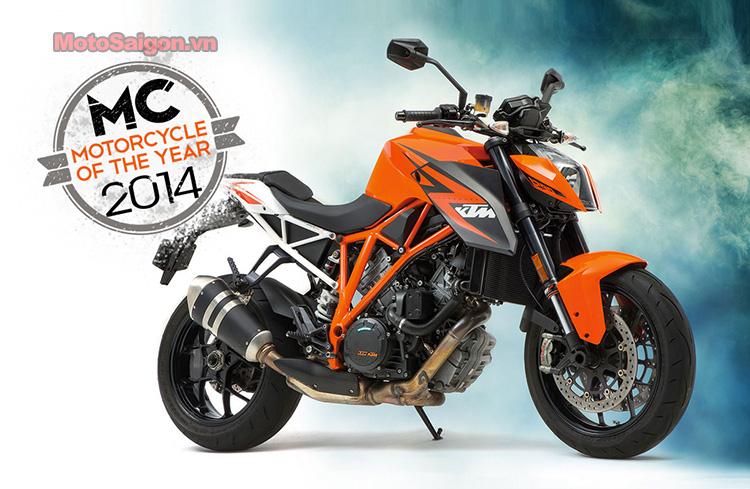 KTM 1290 Super Duke R đoạt giải xe môtô của năm 2014