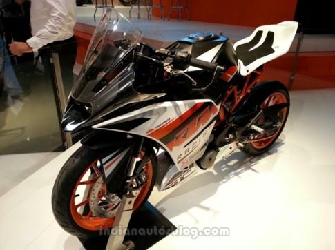 KTM ra mắt mẫu xe sportbike mới vào tháng 9 tới