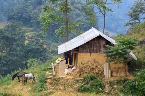 Lên Hà Giang vượt đèo khó, 'bò' qua Xín Mần