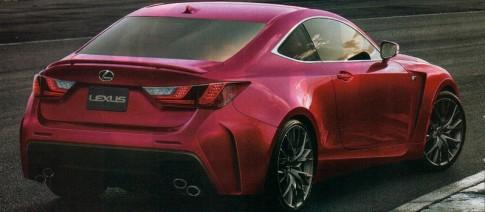 Lộ thêm ảnh xe thể thao hạng sang Lexus RC-F