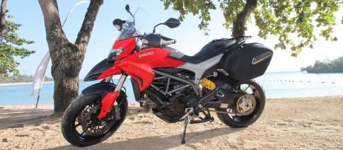 Môtô đường trường Ducati Hyperstrada 424 triệu đồng tại Việt Nam