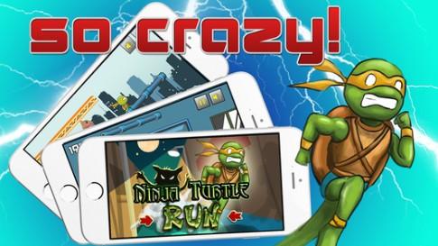 Ninja Turtle Run - game hành động nổi tiếng đã đổ bộ trên iOS