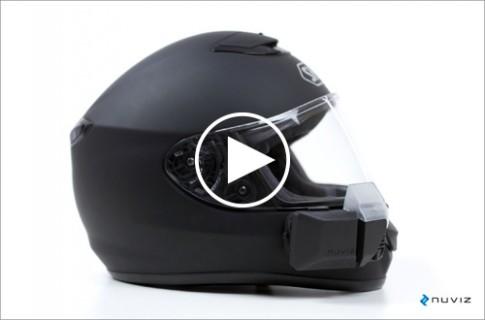 Nuviz Ride - thiết bị hiển thị HUD dành cho người lái mô tô