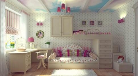 Phong thủy cho phòng của trẻ nhỏ