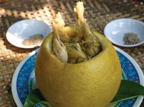 Phượt tìm bưởi, ẩm thực bưởi làng Tân Triều