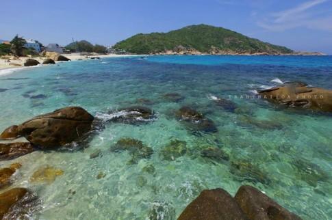 [Review] đảo Bình Ba những thềm biển màu ngọc bích