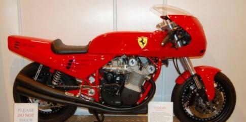 Siêu môtô Ferrari sắp được ra mắt?