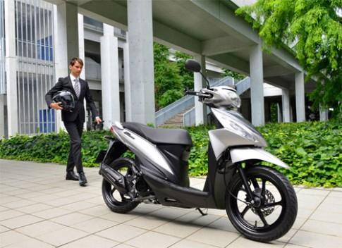 Suzuki Address xe tay ga 110 phân khối vừa được ra mắt