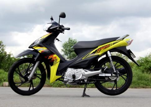 Suzuki Axelo - xe côn tay cho người mới chơi