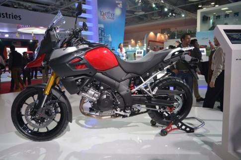 Suzuki giới thiệu V Strom 1000 tại Auto Expo 2014