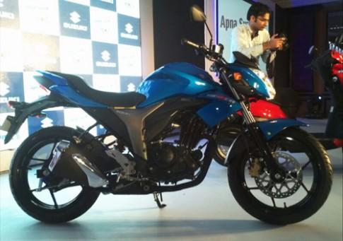 Suzuki Gixxer 150 chính thức ra mắt tại Ấn Độ