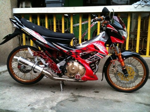 Suzuki Raider 150 Do kieng Racing Boy