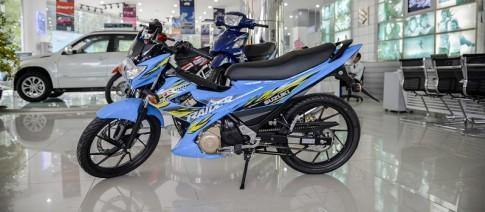 Suzuki Raider 150 xanh ngọc tại Sài Gòn