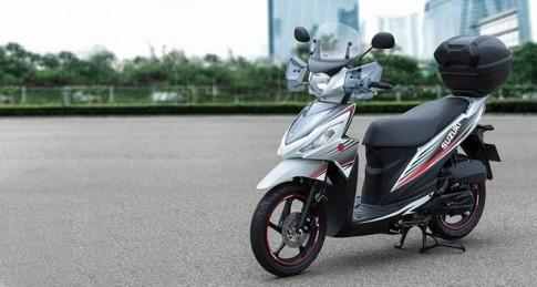 Suzuki trình làng xe tay ga Address 110 phân khối mới
