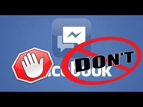 Thoát khỏi Facebook Messenger phiền toái