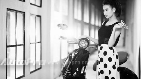 Top 5 Miss Ngôi Sao 2013 kiêu sa bên Vespa 946