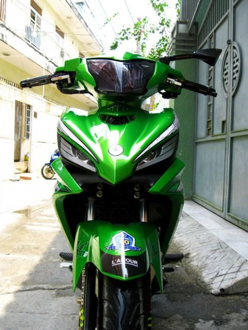 Top nhung mau xe do mau xanh Kawasaki 2013