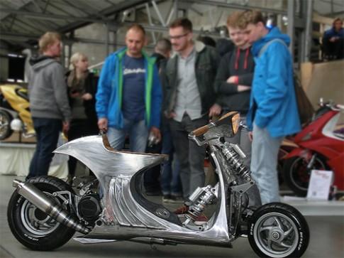 Triển lãm scooter độ kỳ quái