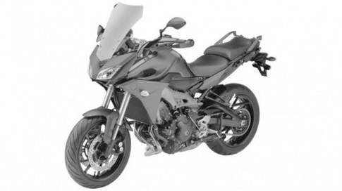 Yamaha chuẩn bị ra mắt mẫu xe môtô thể thao đường trường mới