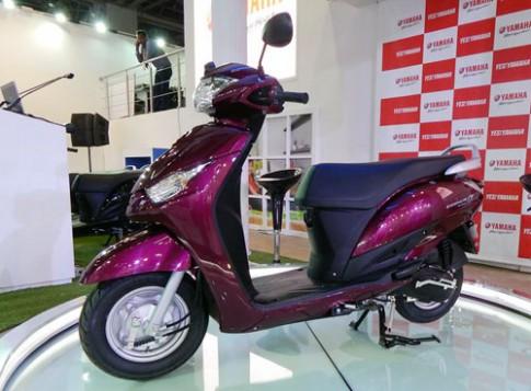 Yamaha Cygnus Alpha mới ra mắt ở Ấn Độ với giá 790 USD.