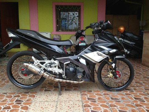 Yamaha Exciter 2008 do trai 59 khoac ao X1R body kit