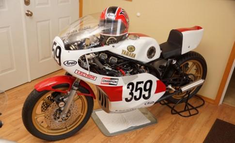 Yamaha TZ750: Siêu motor 2 thì động cơ 4 xy-lanh