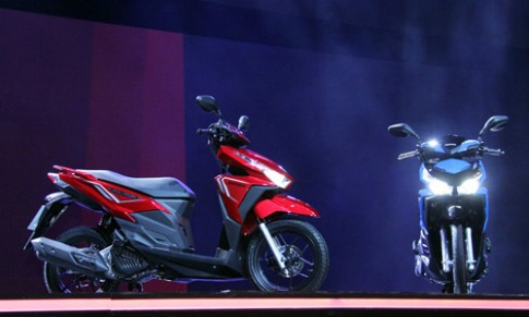 4 mẫu xe mới của Honda ra mắt tại Thái Lan