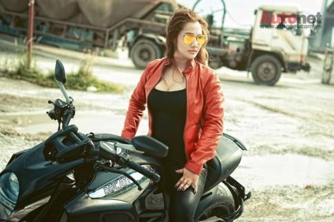 4 nữ biker 9x với niềm đam mê xe côn tay