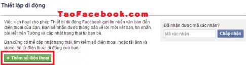 Bật xác minh 2 bước bằng điện thoại cho Facebook