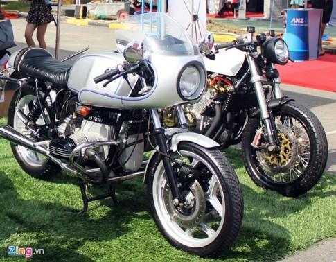 BMW R100S độ phong cách tại Sài Gòn