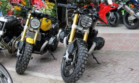 Bộ đôi BMW R nineT Độ về Việt Nam