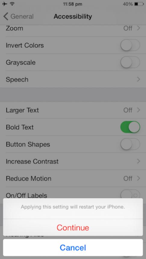 Cách khởi động lại iPhone, iPad mà không cần dùng đến nút nguồn hay home