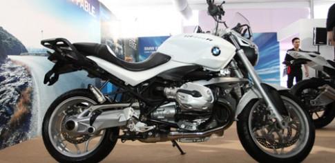 Cận cảnh R1200R được trưng bày tại BMW World Xpo '14