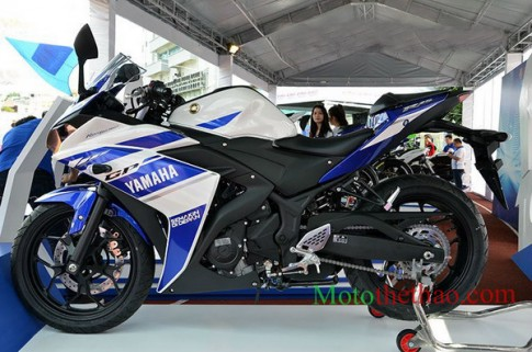 Cận Cảnh Yamaha R25 về Việt Nam
